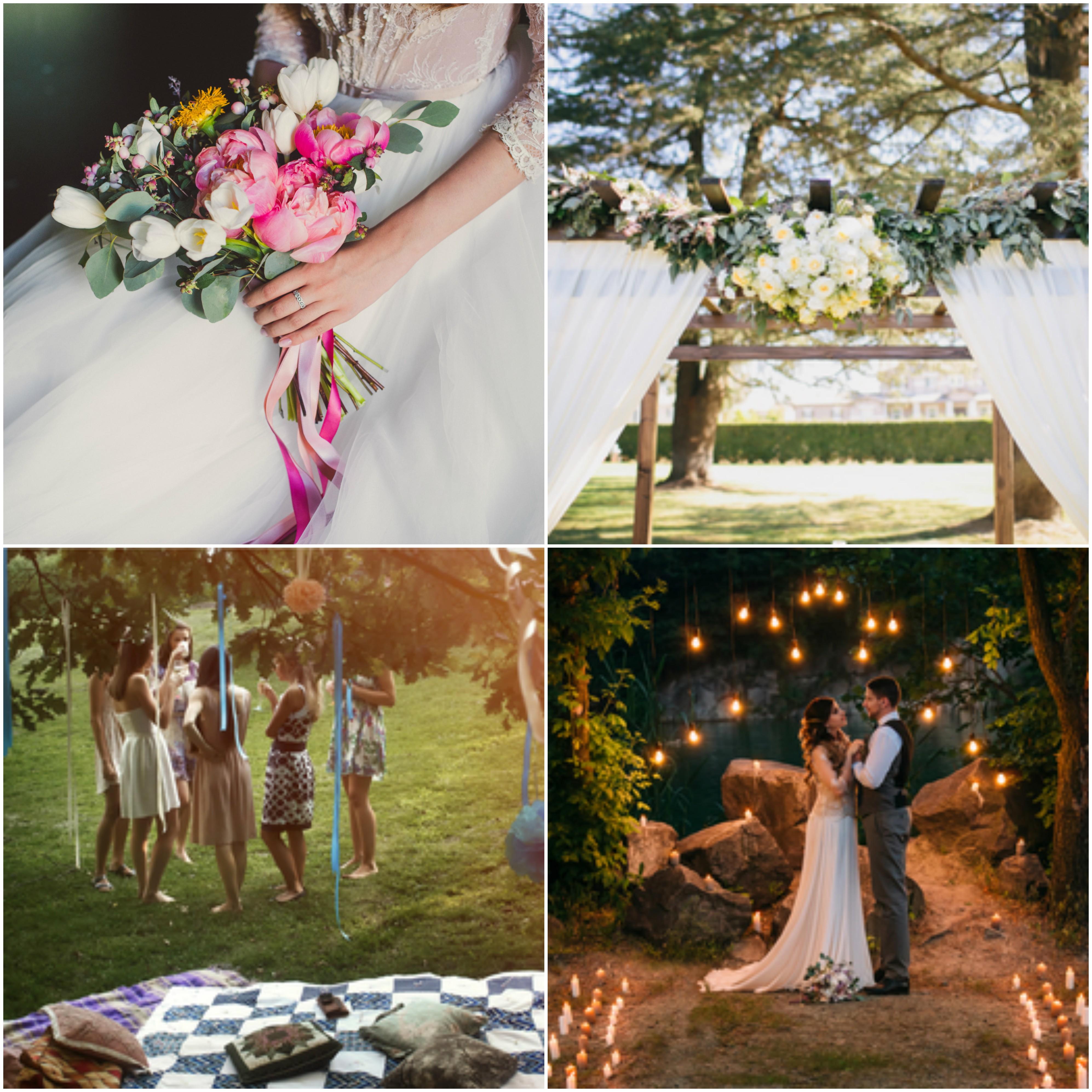 Romantic Spring Garden Weddings